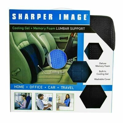 Sharper Image Lumbar Support Cushion