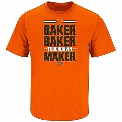 TShirt - Baker Baker Touchdown Maker - Cleveland Browns