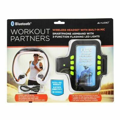Earbud & Sports Armband Set