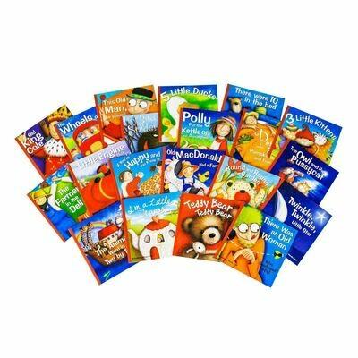 Nursery Songs 20-Set Wendy Straw Paperbacks