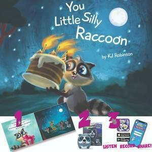 Audio bundle-book & speaker - You Little Silly Raccoon