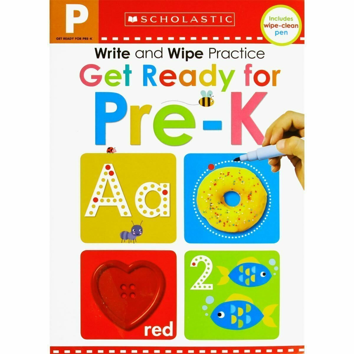 Scholastic Get Ready for Pre-K Write & Wipe