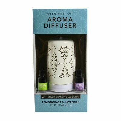 Aroma Diffuser with 2 Essential Oils
