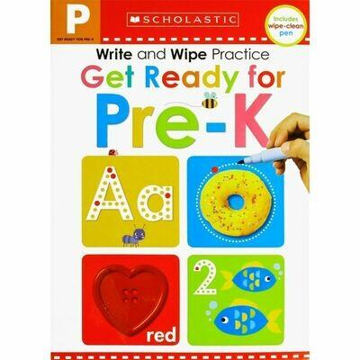 Scholastic Get Ready for Pre-K Write & Wipe