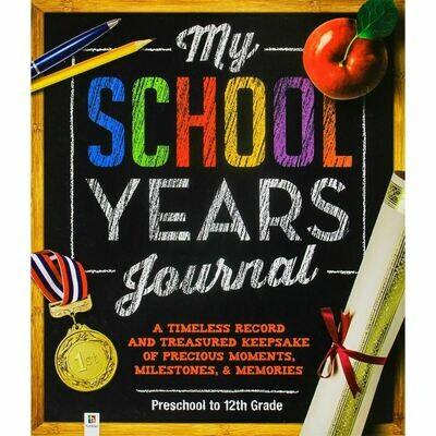 My School Years Journal NEW