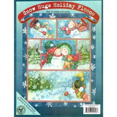 Snow, Hugs, Holiday Fleece