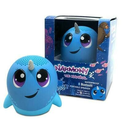 Narmony the Narwhal Bluetooth Speaker