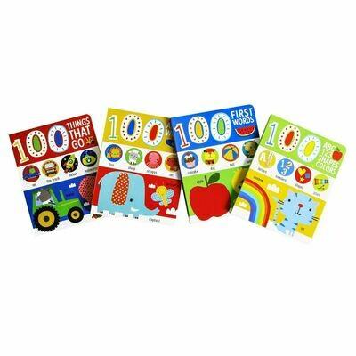 100 Things Board Book 4-Set