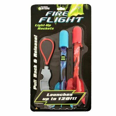 Fire Flight Light-Up Rockets