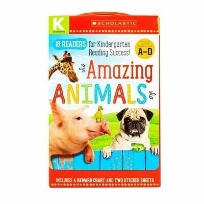 Scholastic Amazing Animals Reading Box