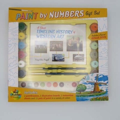 Paint by Number Book & Kit