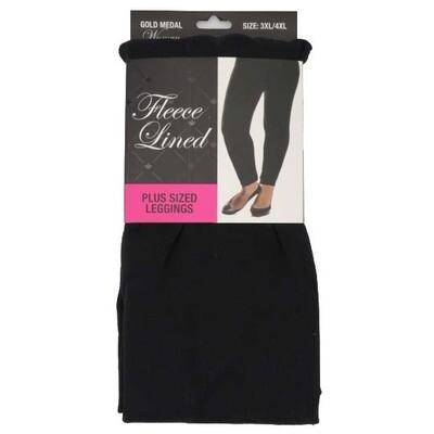 Leggings - Black - 3XL/4XL
