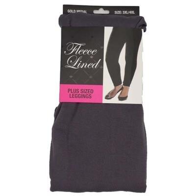Leggings - Gray - 3XL/4XL