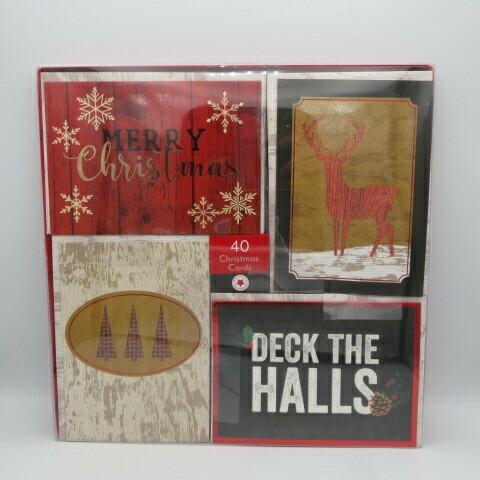 Christmas Cards (40) Traditional