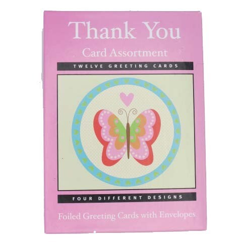 Thank You Cards Assort (12)