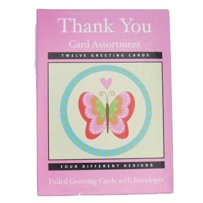 Thank You Cards Assort (12)
