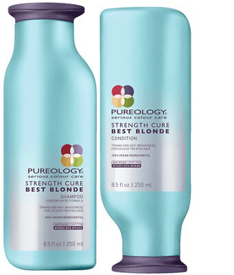Pureology Strength Cure Best Blonde Shampoo And Conditioner