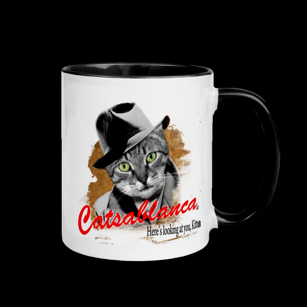 Catsablanca - Cat Lovers Parody Mug -Tincar Orginal