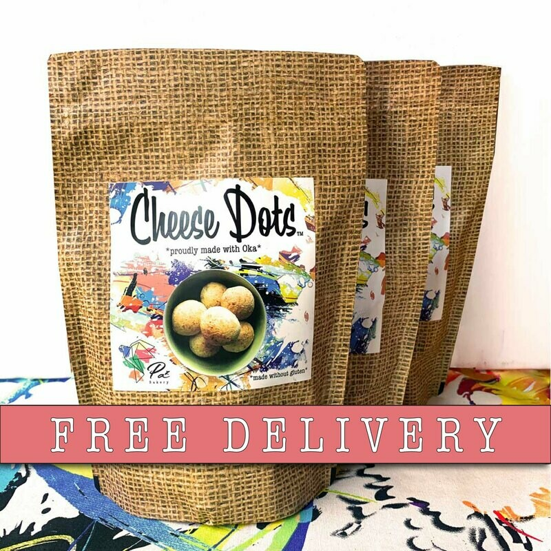 Cheese Dots - 3 bags