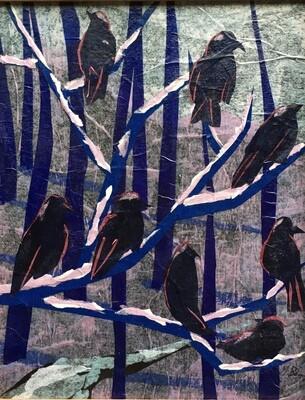 PREMONITION: PANDEMIC BIRDS by Gretchen Bainum