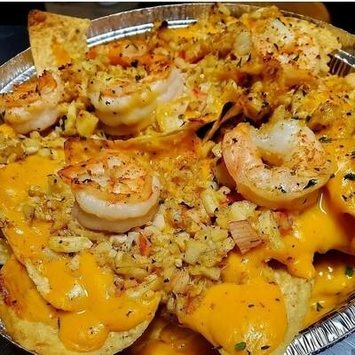Seafood Sensation Nachos\Bites