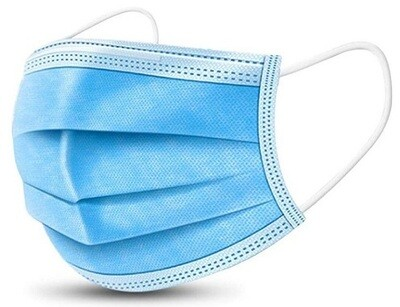 3 Ply face mask, premier plus ( Sold in box of 50)