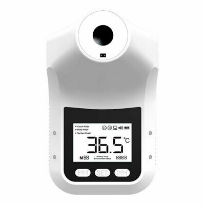 K3-Pro Wall mounted Automatic Infrared Digital Forehead Thermometer - Upgraded Model