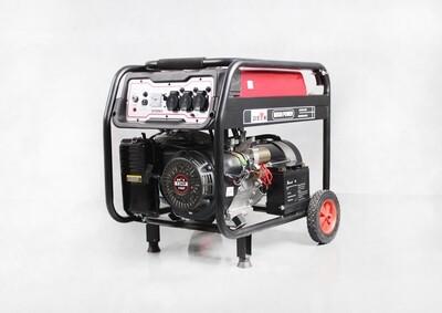 Petrol Generator semi-silent electric start max output power: 6.5 KW (8.0KVA) 25L