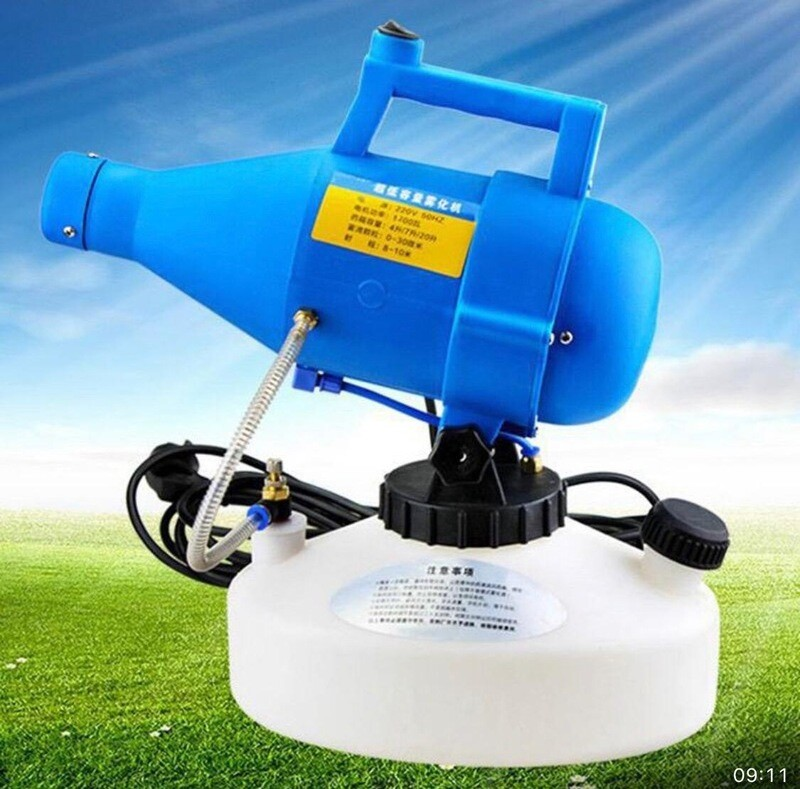 Handheld Electrostatic cold Fogger 4.5l swing type 1400w