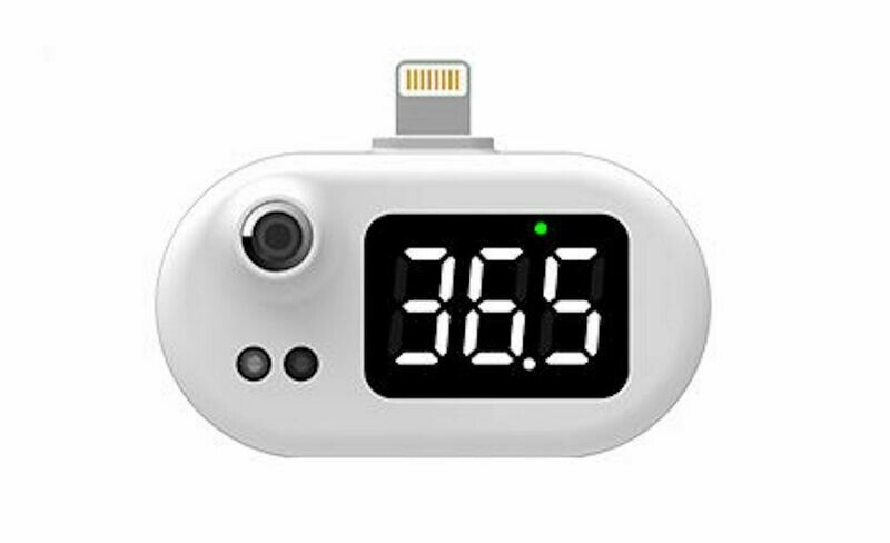 Digital USB Mobile Phone Thermometer For Android, iPhone, Huawei Phones