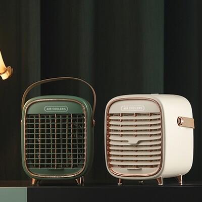 Mini portable air conditioner - cordless