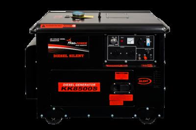 Diesel Silent Generator 7Kw (8.7Kva) 16Lt 3-PHASE