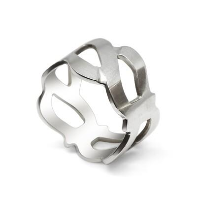 Ocean Wave Ring Sterling Silver 925