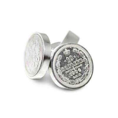 Cufflinks 1904  coin Sterling Silver 925