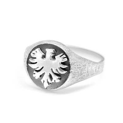 German Eagle Ring  Sterling Silver 925