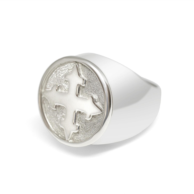 Crusade Ring Sterling Silver 925