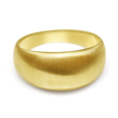 Dome Ring 18ct yellow Gold