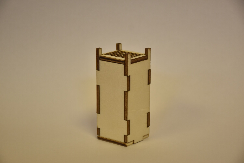 יצירת קופסת בשמים - מזבח הקטורת מעץ להרכבה