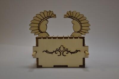יצירת ארון הברית מעץ להרכבה