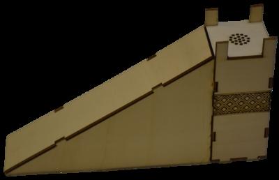 יצירת מזבח העולה מעץ להרכבה