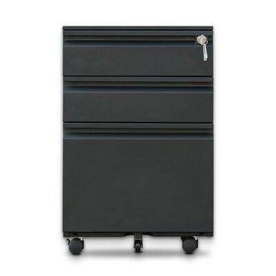 Mobile Pedestal Cabinet (BK)