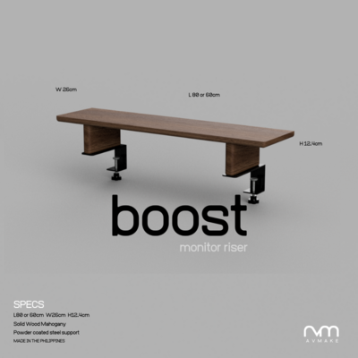BOOST v1 - Monitor Riser