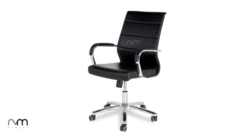 Exec. Mid Back Chair with Armrest LJ09B