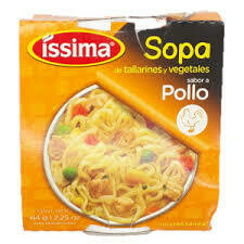 Sopas Issima Sabor Pollo 64gr