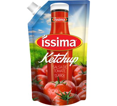 Salsa de Tomate Ketchup Issima 397gr