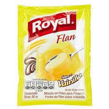 Flan de Vainilla Royal 80g
