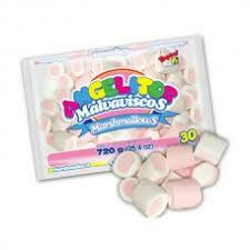 Marshmallows Angelito Gigante Bicolor 720 Gramos