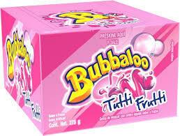 Chicle Bubbaloo 1S Tutti Fruti  50X5.5Gr