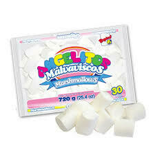 Marshmallows Angelito Gigante Blanco 720 Gramos