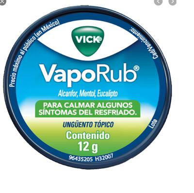 Vick Vaporub Unguento 12 Gramos